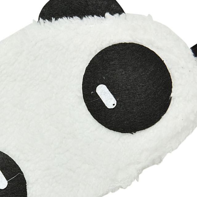 Mask For Sleep Cute Panda Sleeping Face Eye Blindfold Eyeshade Breathable Kids Women Travel Cover Health Care Aid Eyepatch Tool 3