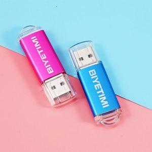 Image 3 - Biyetimi USB stick 128GB 64GB 32GB 16GB 8GB USB2.0 TransMemory USB sticks USB memory Stick 32GB usb Pen Drive U disk