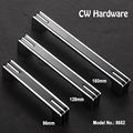 CW Hardware DECFAB 8652 Simple American Kitchen Cabinet Knobs Wardrobe Pull Handles Black American Drawers For Furniture