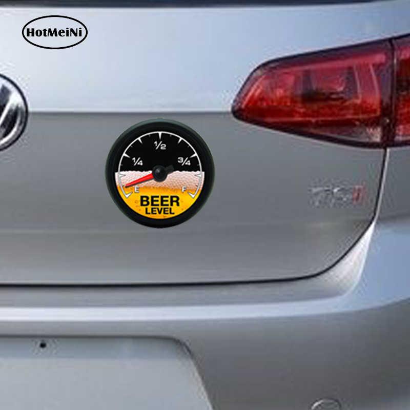 Hotmeini etiqueta do carro 3d estilo medidor de cerveja decalque croata pára-choques capacete pára-brisa caminhão beber refrigerador copo caneca 13x13cm
