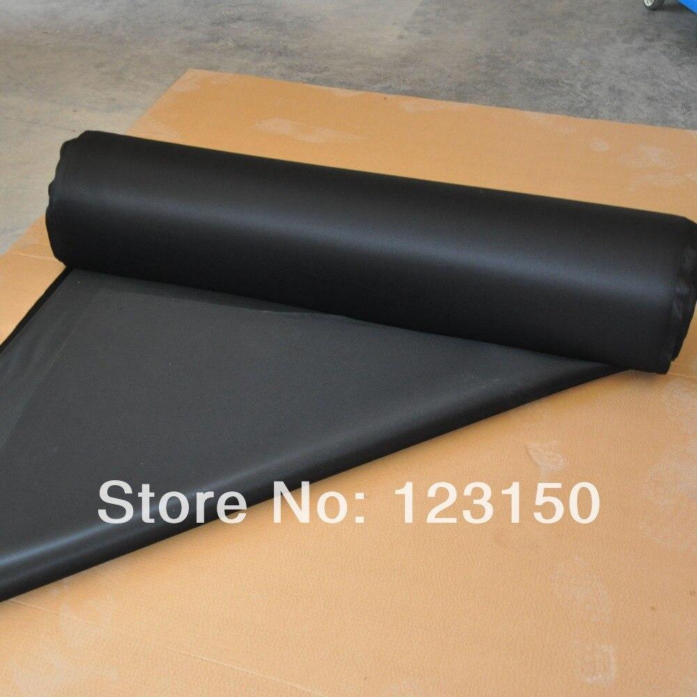 ZB 034 черного каучука, ширина 1,3 м, цена за метр