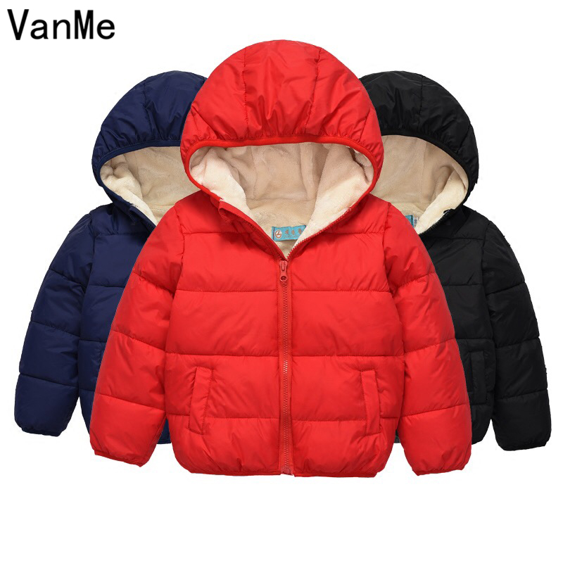 Boys Jacket 2017 Autumn Winter Jackets For Girls Bomber Jacket Kids Infant Coat Hooded Children Outerwear Coats Clothes MN-413