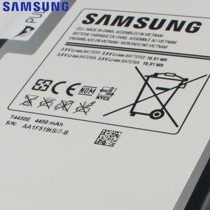 Оригинальный запасной аккумулятор Samsung для Galaxy Tab 3 8,0 T315 T311 T310 T4450C настоящий планшет аккумулятор T4450E 4450mAh
