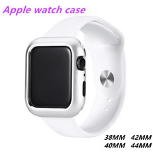 Magnetic Adsorption case Cover for Apple Watch 4/3/2/1 Metal Frame bumper Protective Case for iwatch 44/42/40/38MM Cover Bumper