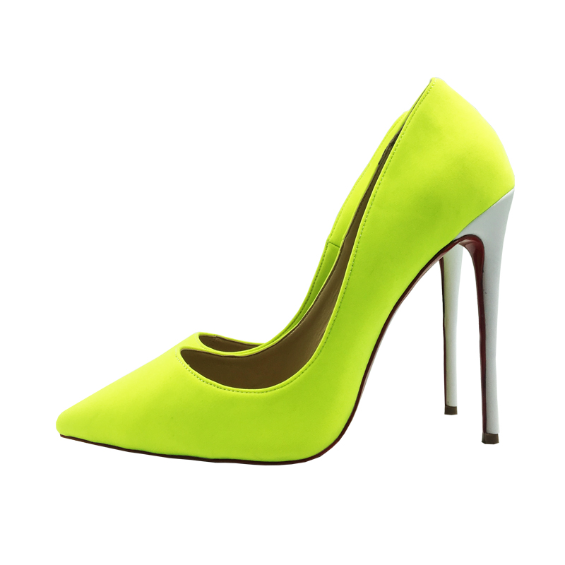 Mujeres Green Verde 10cm Altos green Blanco Los Más Tela Tacones 45 8cm green 12cm Algodón green Tierno 34 Bombas Zapatos Las Tamaño De Clásica Vestir 6cm Ct1O1qU