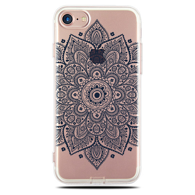 For Coque iphone 6S Case Silicone Transparent Clear Soft TPU Back Cover For iphone 6 6S 7 8 Plus X 10 Case Cover Phone Cases 5
