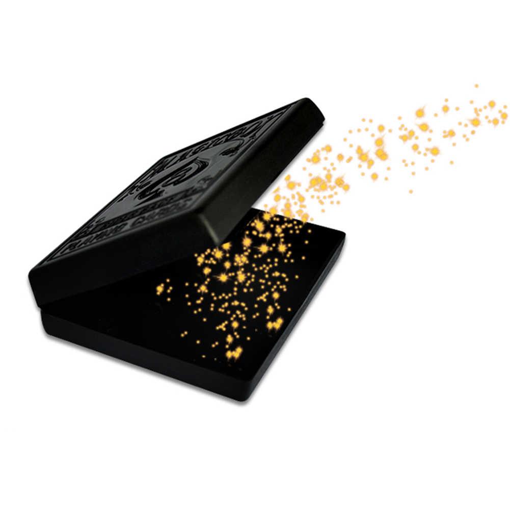 Sonho preto Caixa de Papel Quebrado Restaurar Caso do Cartão de Close-up Peças Restaurar Truques de Magia Adereços Brinquedos para Presente