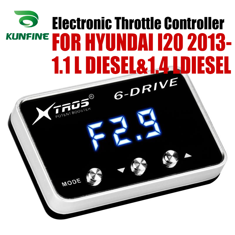 Car Electronic Throttle Controller Racing Accelerator Potent Booster For HYUNDAI I20 2013 2019 1.1 L DIESEL&1.4 LDIESEL|Car Electronic Throttle Controller| |  - title=