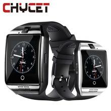 Купить с кэшбэком Smart Watch Q18 Bluetooth with SIM TF Card Smartwatch Pedometer Sleep Monitor Camera For IOS Android Sport watch for Men women