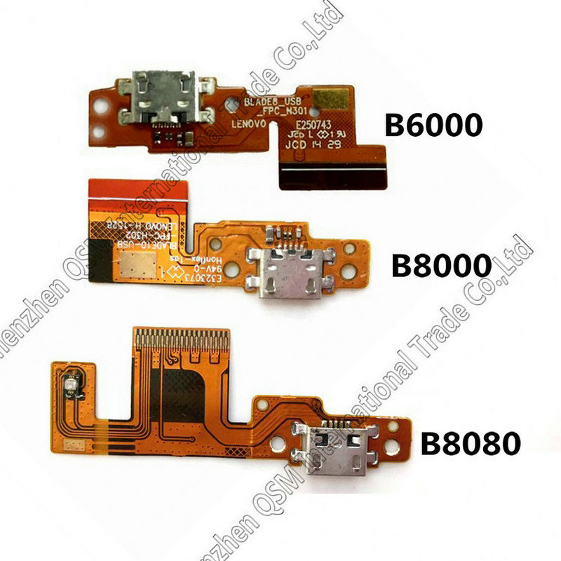 USB Charging Port Dock Plug Connector Jack Charge Board Flex Cable For Lenovo Tablet Pad Yoga 10 B8000 B6000 Yoga 8 B6000 B8080