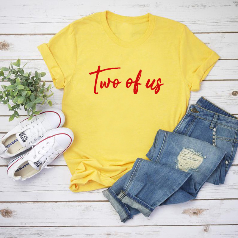 Louis Tomlinson Two Of Us T Shirt Women Casual One Direction T-shirt Unisex Cotton O Neck Tops S-XXXL Camisas Mujer