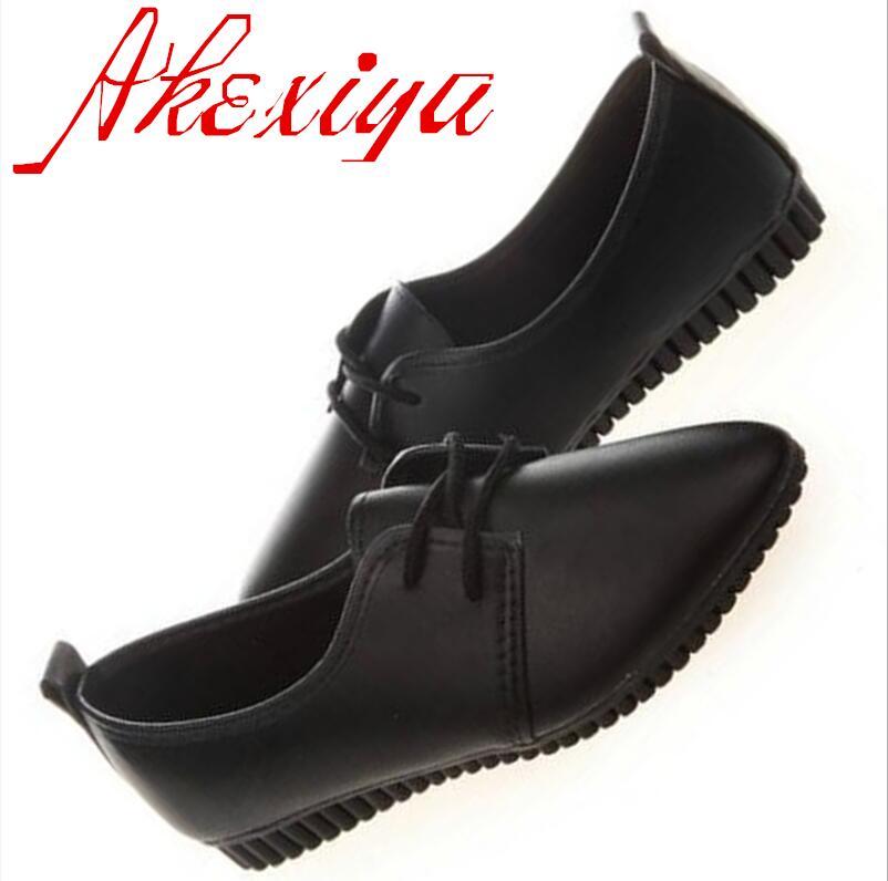 Akexiay Akexiay caliente primavera verano zapatos de las señoras nueva PU Zapato