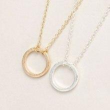 Lot de 30 pendentifs ronds en or pour femmes, bijoux de Couple, nouvelle mode, amour éternel, vente en gros