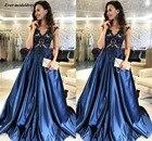 Navy Blue Prom Dress...