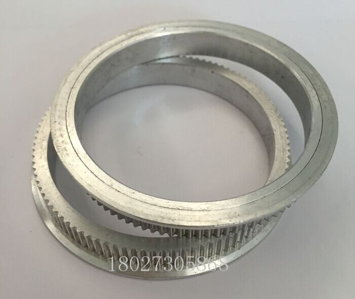 Imprimante 3D GT2 60 T 15 T Ceinture 6 mm Timing pulley Belt Set Kit rapport de réduction 4:1
