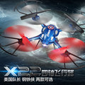 Brand New BBL RC Drone Captain American/Iron Man Pattern 2.4G 4-Axis The Headless Mode LED RC Helicopter Toy For Gift/Kids