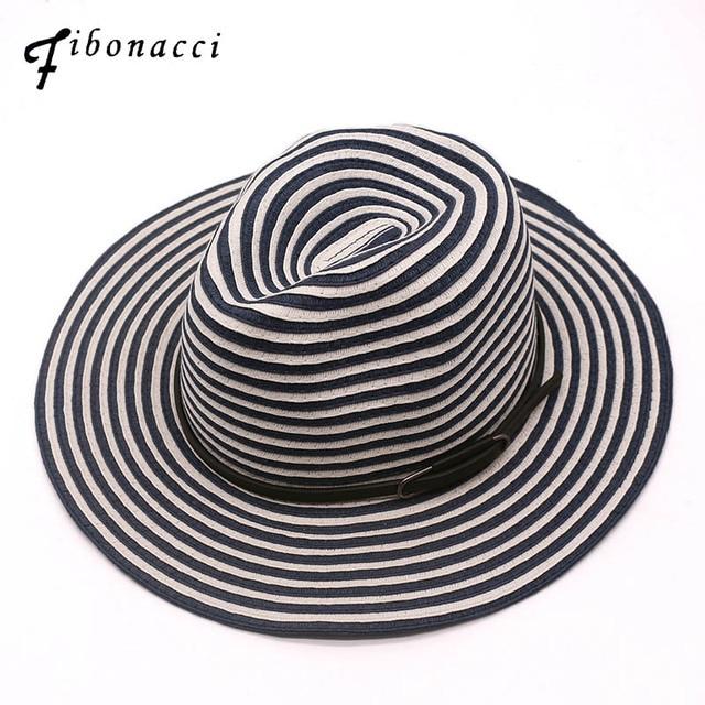 4dd5b48ec91d26 summer straw sun hat panama beach hats for men women vogue classic chapeu  feminino sombrero jazz hat