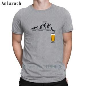 Image 5 - Tydzień rzemiosło piwne projekt śmieszny T Shirt Euro rozmiar formalny kreatywny T Shirt dla mężczyzn jednolity kolor Hip Hop komiczny Tee Shirt Funky