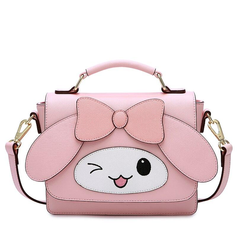 2019 Femmes sac à main Sacs mignon dessin animé nouveau Sac Messenger femmes sac casual sac de qualité supérieure rose couleur livraison gratuite