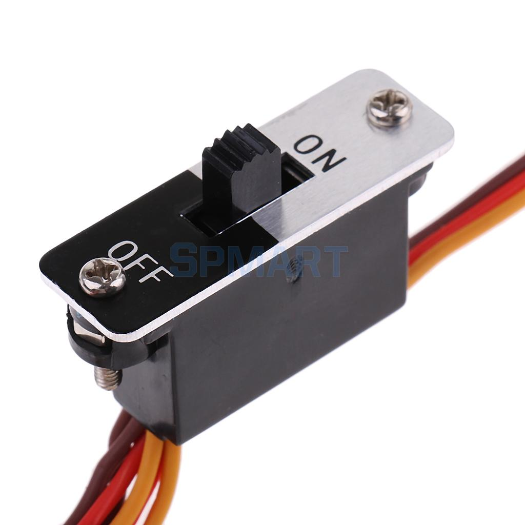 On/Off Power Switch Wire Harness Cable 3 Way JR Connectors Plug for ...