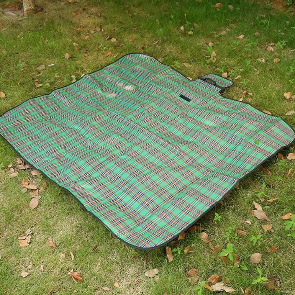 2018 портативный Летний Пляжный коврик для кемпинга Матрасы для пикника безпесочный коврик водонепроницаемый песочный свободный мешок Открытый Складывающийся коврик