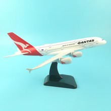 JASON TUTU 20cm Plane Model Airplane Model Qantas Airbus A380 Aircraft Model 1:200 Diecast Metal Airplanes Plane Toy Gift 45cm a380 china southern airlines airplane model resin aviation china southern airbus a380 airways scale model creative gift toy
