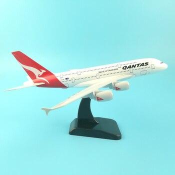 JASON TUTU 20cm Plane Model Airplane Model Qantas Airbus A380 Aircraft Model 1:200 Diecast Metal Airplanes Plane Toy Gift цена 2017