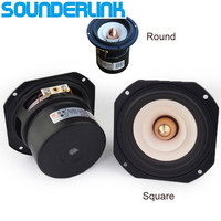 1 PCS Audio Labs Top End 4 Full Range Speaker Unit Aluminum Bullet 2 Layer Paper