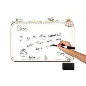 Image 5 - A3 Magnetische Koelkast Whiteboard Stickers Verwijderbare Wissen Graffiti Schrijven Werk Plan Te Doen Lijst Menu Bericht Herinnering Note Board