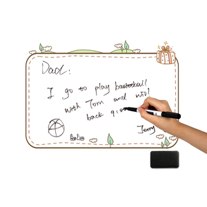 Image 5 - A3 מגנטי מקרר מדבקות לוח נשלף למחוק גרפיטי כתיבת תכנית עבודה לעשות רשימת תפריט הודעה תזכורת הערה לוח