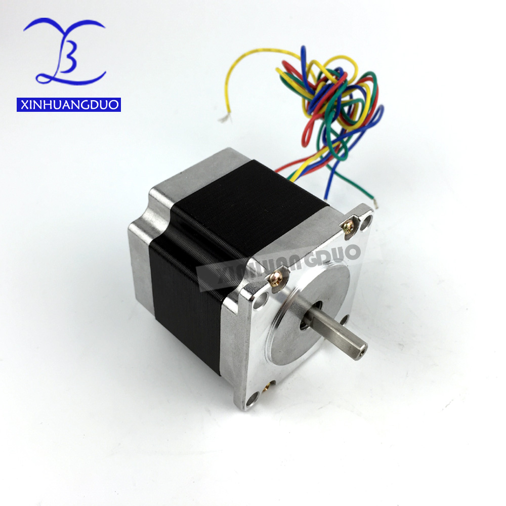 Free shipping 1 PCS,CNC Router Lathe Nema 23 175 Oz-In Stepper Motor 2 Phase3.0A 1.8 Degree 57x56mm  (3230)Free shipping 1 PCS,CNC Router Lathe Nema 23 175 Oz-In Stepper Motor 2 Phase3.0A 1.8 Degree 57x56mm  (3230)