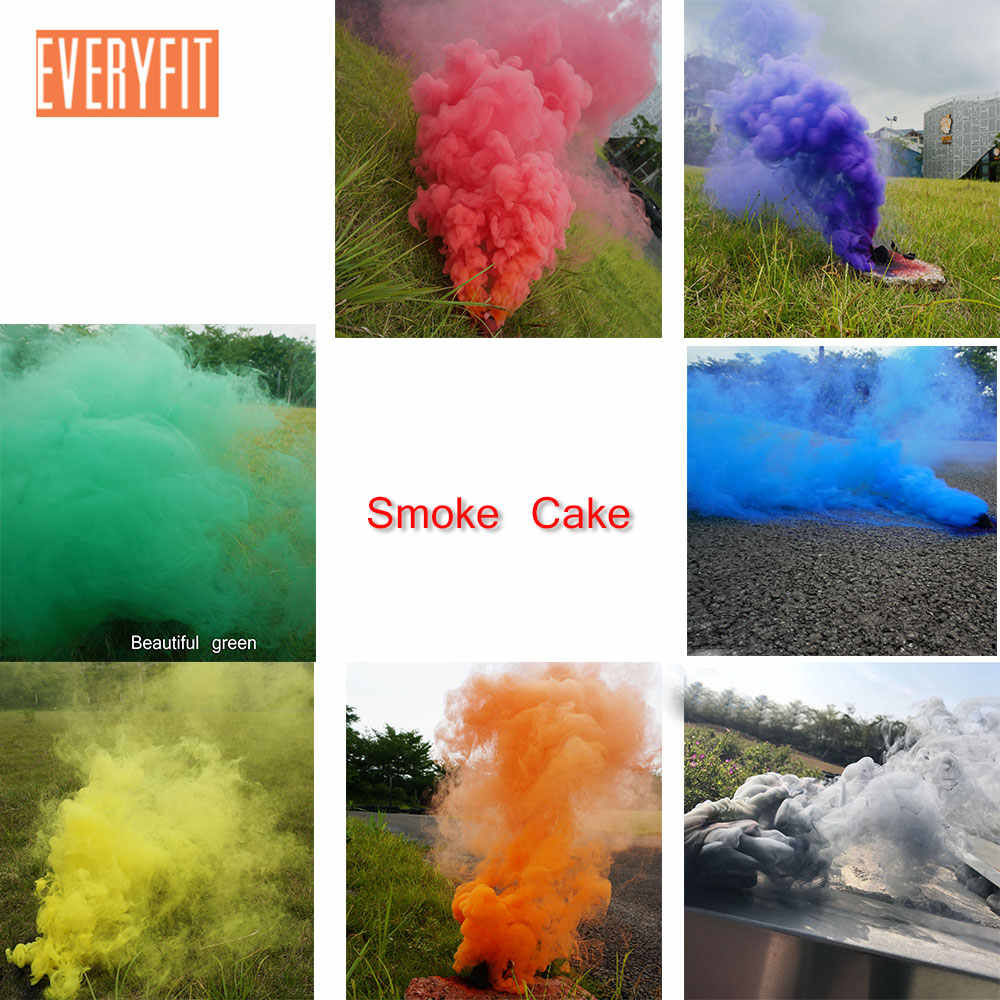 Everyfit 5pcs Smoke Cake Colorful Effect Show Round Bomb