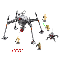 LEPIN 05025 Star Wars Homing Spider Droid Master Building Block 320Pcs Educational Construction Assemble Toys For