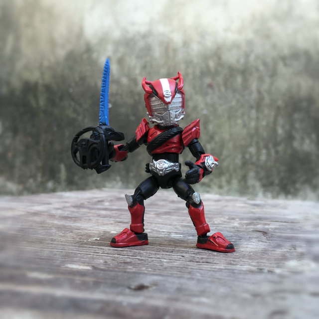66mm Japanese original amine figure Kamen Rider 66ACTION DRIVE Q version movable action figure collectible model toys for boys
