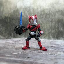 Фигурка Амина Kamen Rider 66 мм, японская оригинальная экшн фигурка из Амина, подвижная экшн фигурка Q version, Коллекционная модель, игрушки для мальчиков