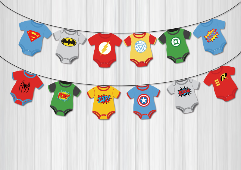 superhero avengers banners baby shower birthday party decorations kids event party supplies birthday party decorations kids in banners