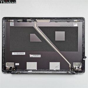 ¡Nuevo! carcasa original para Lenovo U410 Lcd, carcasa trasera, tapa trasera para ordenador portátil no táctil 3CLZ8LCLV30, Metal gris