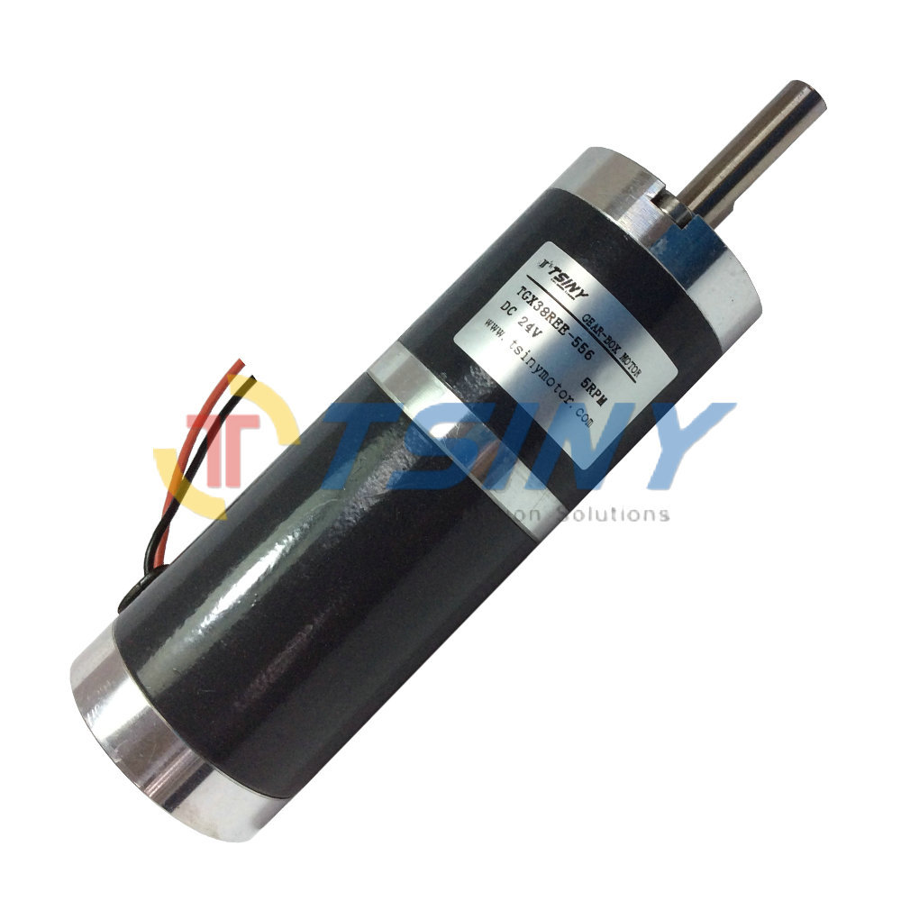 Buy tgx38 dc gear motor 24v 5rpm dc motor for Where to buy motors