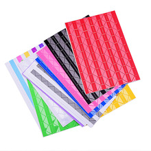 Fesyen DIY 102 Keping / lot Colorful Photo Corner Scrapbook Paper Photo Album Hiasan Gambar Hiasan PVC