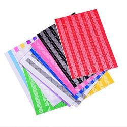 Moda DIY 102 unids/lote colorido foto esquina álbum de papel foto álbum marco decoración PVC pegatinas