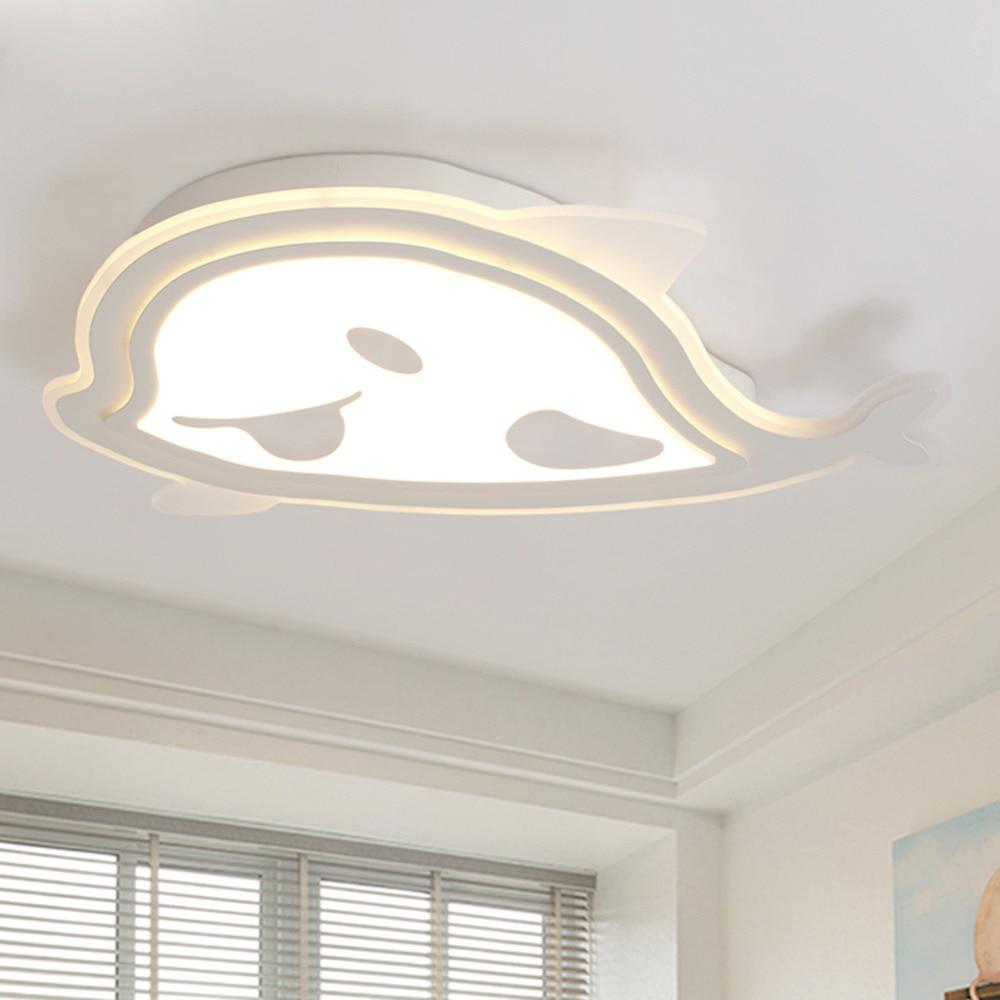 Morden Creative Led Ceiling Lamp Aircraft Shape Led
