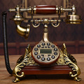 Nueva gama Alta de Teléfonos Antiguos de época Teléfono Fijo Europea RetroTelephone Telefono Fijo Para la Oficina En Casa