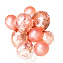 Pink Birthday Party Decorations-Silver Happly Birthday Balloons Banner,Pink Champagne Balloon,Star Balloon,Moon Balloon,Heart-shaped Balloon,Metallic Silver Balloon for All Ages Birthday Party Supplies.