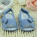 2016 Nuevo Bebé Niños Pequeños Niña Princesa Arco Verano Suave antideslizante Zapatos Del Pesebre Girls Primeros Caminante de la Alta Calidad