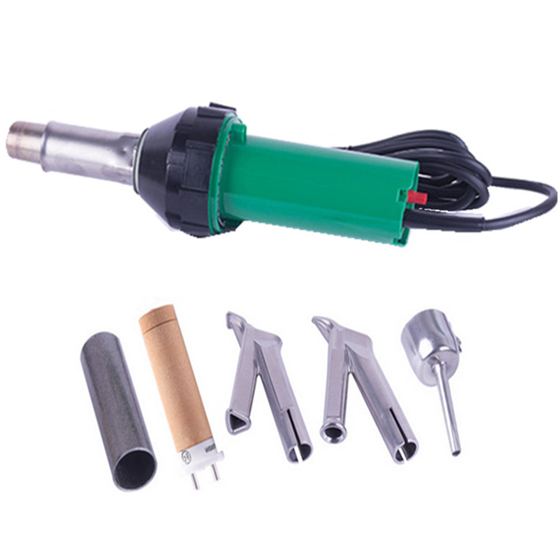 Hot air plastic welding gun kits Vinyl Hot Blast Torch PP/LDPE/PVC HDPE geomembrane welder hot air blower heat gun TPO roof