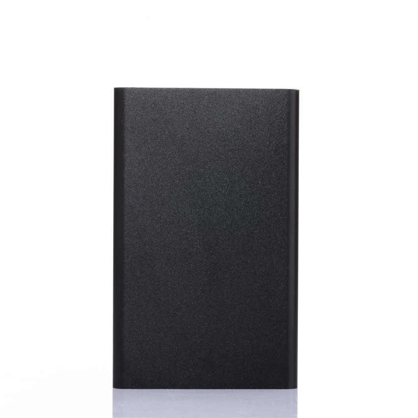внешний аккумулятор  павербанк Ультра тонкий портативный зарядное устройство power Bank batterie externe блок питания 5000 мАч power bank Мини 18650 bateria portatil низкая цена