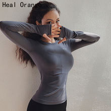 Women High Stretch Comfort Sport Seamless Long Sleeve Top Woman Gym Tops Fitness Woman Shirt Quick Jersey Mujer Women's Sweater(China)