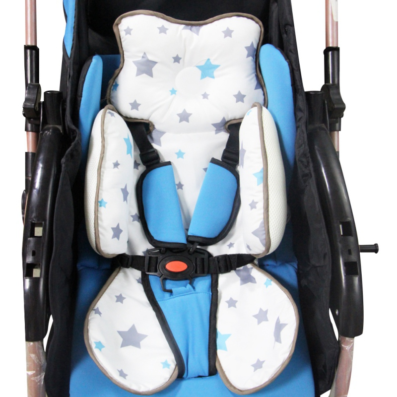 Infant Cushion Four Seasons Universal Breathable Baby Safety Seat Stereotypes Sleeping Pad Trolley Portable Cushion