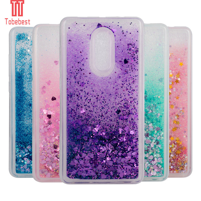 huge selection of 38db8 cbd03 US $2.78 25% OFF|TPU Case For Xiaomi Redmi Note 3/Note 4/Redmi 4/Xiaomi MI  5/Xiaomi 5S Dynamic Flowing liquid Glitter Quicksand Star Back Cover -in ...