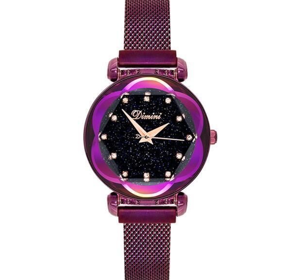 2018 nuovo cielo stellato caratteristica magnete fibbia della cinghia di trasporto fibbia orologio orologio femminile